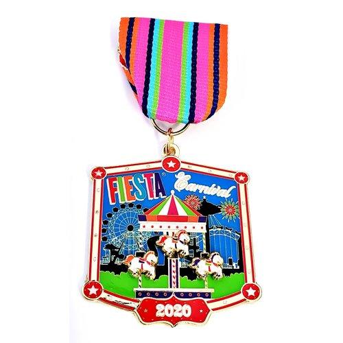 2020 Official Fiesta Carnival Medal