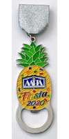 #52 Alamo Area Hospitality Association 25th Anniversary Medal- 2020