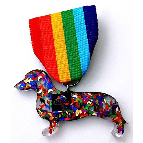 #6B Footbridge Foundation Dog- Wendy's Rescue Medal-2020