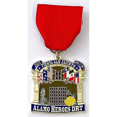 #54 Alamo Heroes DRT Medal- 2020
