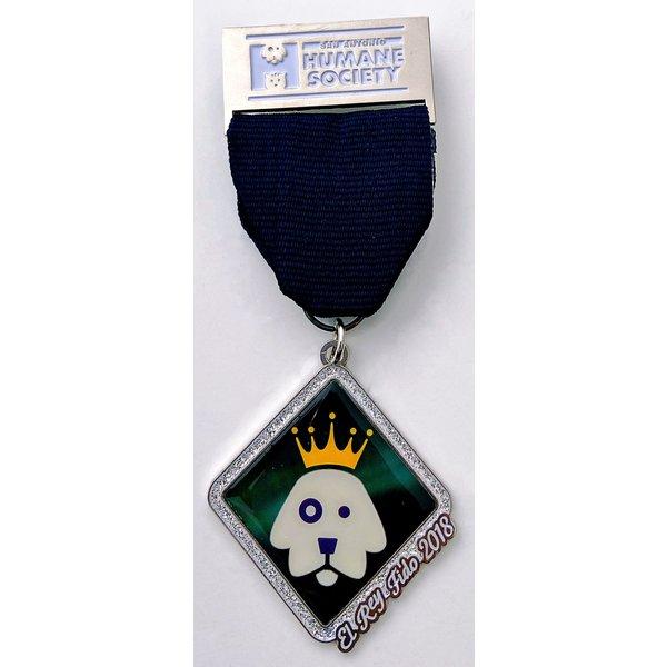 San Antonio Humane Society Vintage El Rey Fido Medal 2018