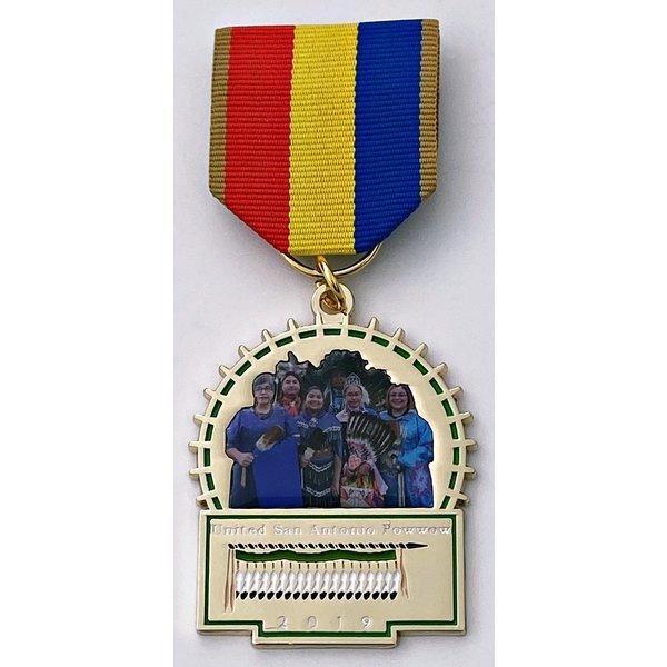 United San Antonio Pow Wow Vintage Medal 2019