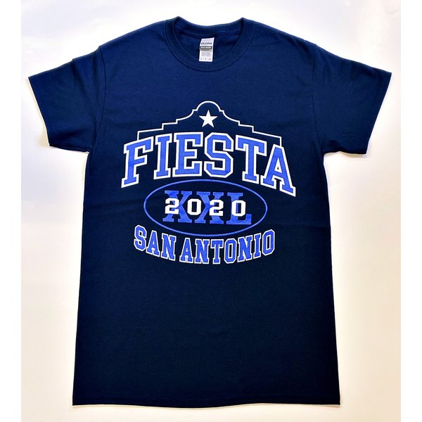 Fiesta Football Tee 2020- Navy