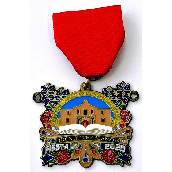 #67 Daughters of the Republic of Texas Library Medal- 2020