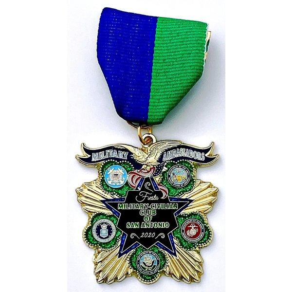 #71 Military Civilian Club Medal- 2020