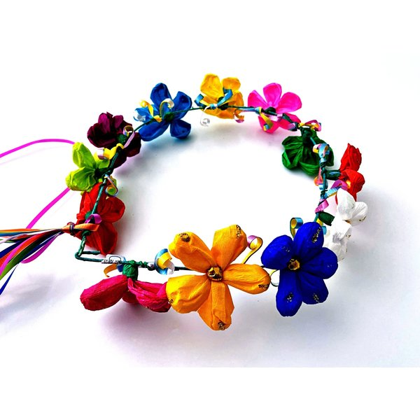 Multi-Color Flower Halo-20