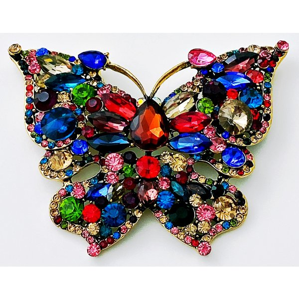 My Butterfly Brooche Multi Color-20