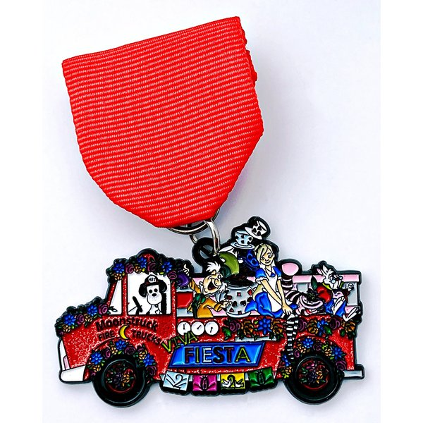 #74 Moonstruck Fire Trucks- Spotty in Wonderland Medal- 2020