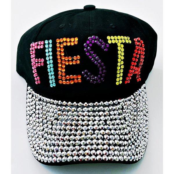 Fiesta Ladies Rhinestone Cap-20