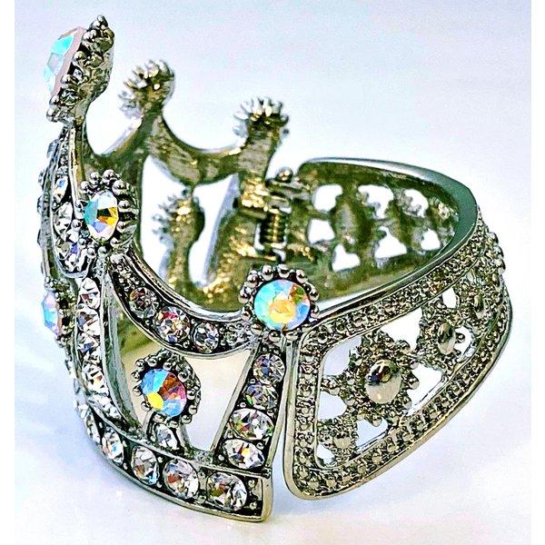 Silver on Silver Tiara Bracelet -20