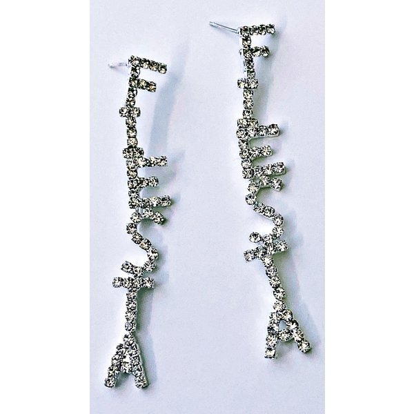 Fiesta CZ Long Earring-20