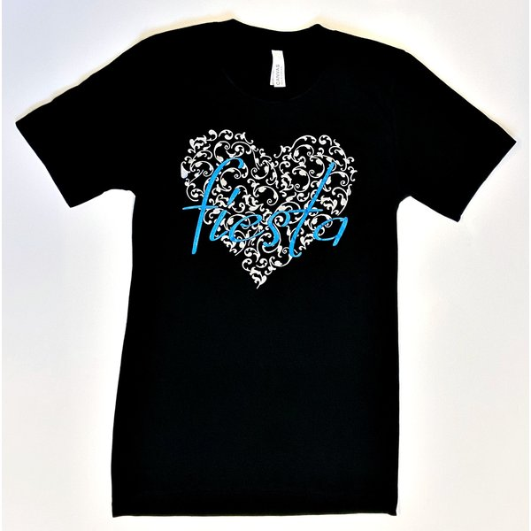 Heart of Fiesta Tee- Black- 2020