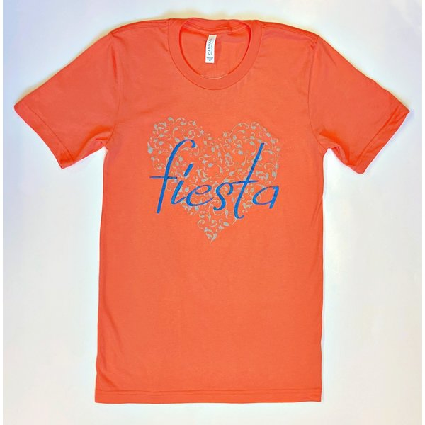 Heart of Fiesta Tee- Coral- 2020