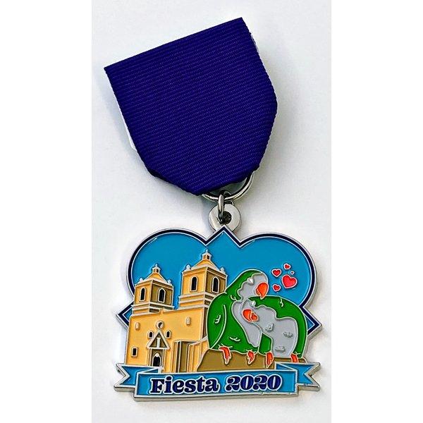 #81 SA Flavor- Mission Concepcion Parrots by Denise Ojeda Medal- 2020