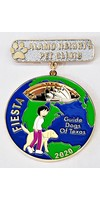 #84 Guide Dogs of Texas & Alamo Heights Pet Clinic Medal- 2020