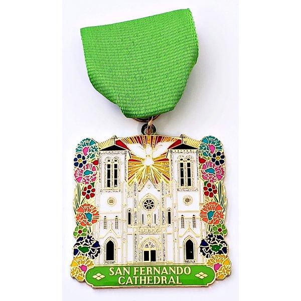 #87 San Fernando Cathedral- Fiesta San Fernando Medal- 2020