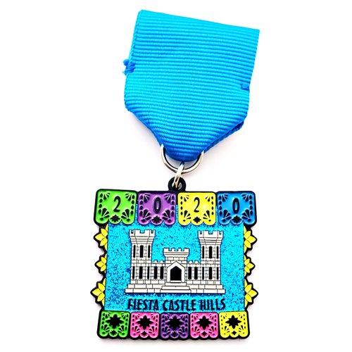 #88 Castle Hills Community Organization- Fiesta Castle Hills- Medal- 2020
