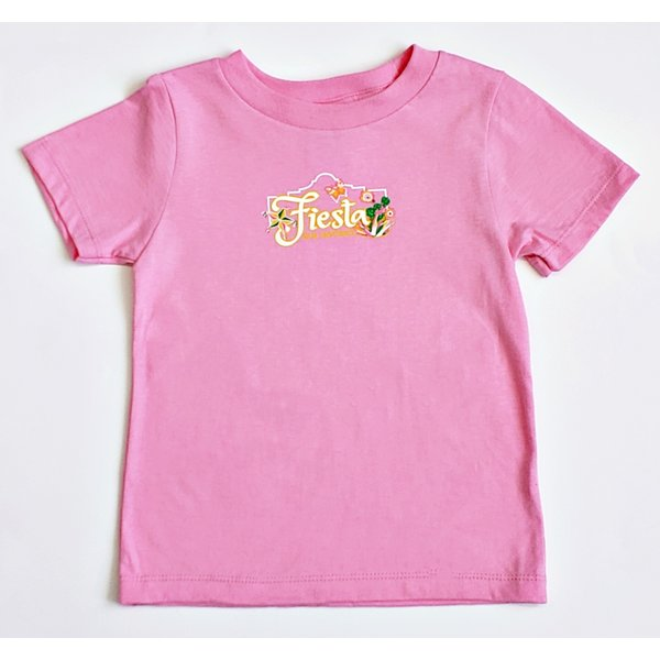 2020 Official Poster Toddler Tee- Candy Pink