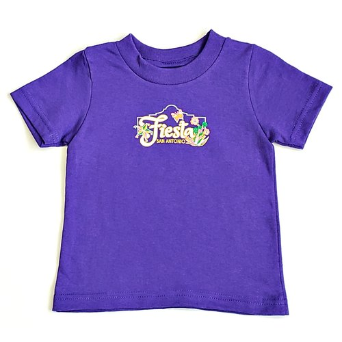 2020 Official Poster Baby Tee- Purple