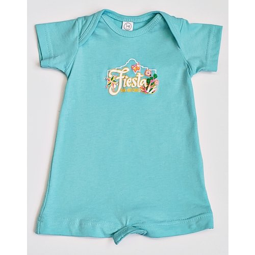 2020 Official Poster Onesie- Baby Blue-NB