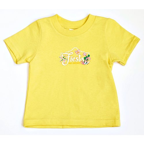2020 Official Poster Baby Tee - Yellow