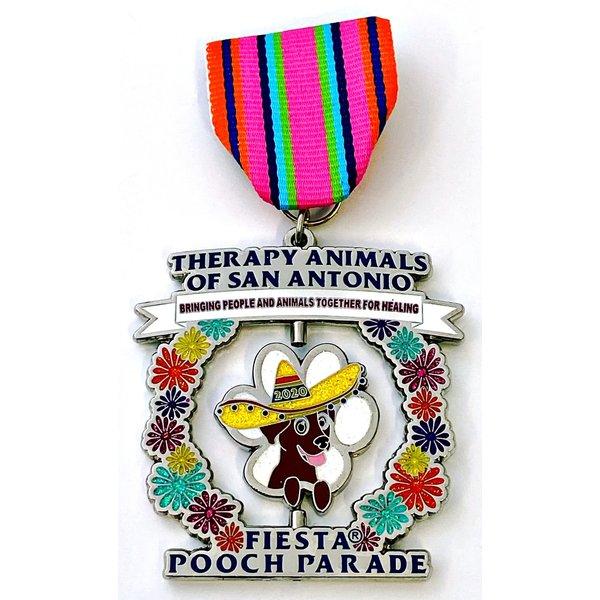 #94 Therapy Animals of San Antonio (TASA) Medal- 2020