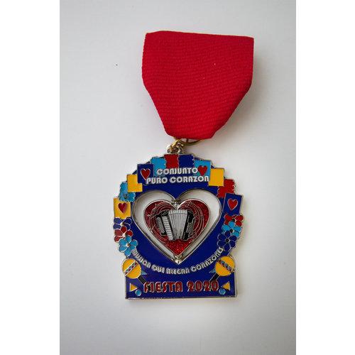 #99 - Conjunto Puro Corazon Medal - 2020