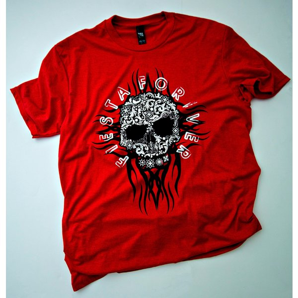 Men's Red Frost Fiesta Forever Tee- 20