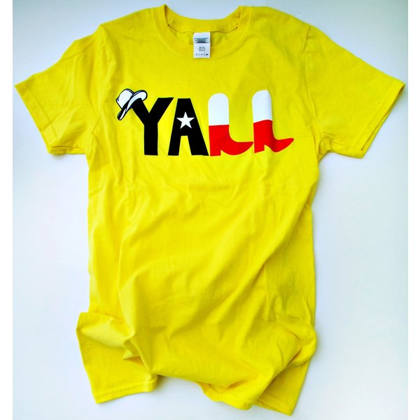 Y'All -Boots- Unisex- Yellow- 20