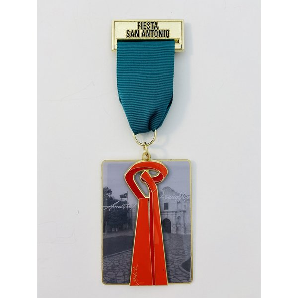 Maestro Sebastian Friendship Torch Sculpture Medal