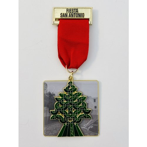 Maestro Sebastian Tree of Life Sculpture Medal