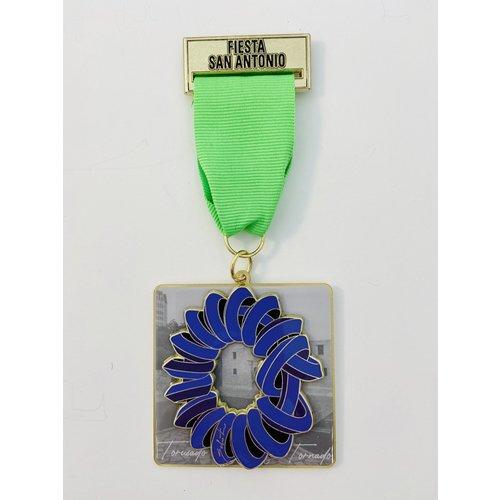 Maestro Sebastian Nudo Torusado Sculpture Medal