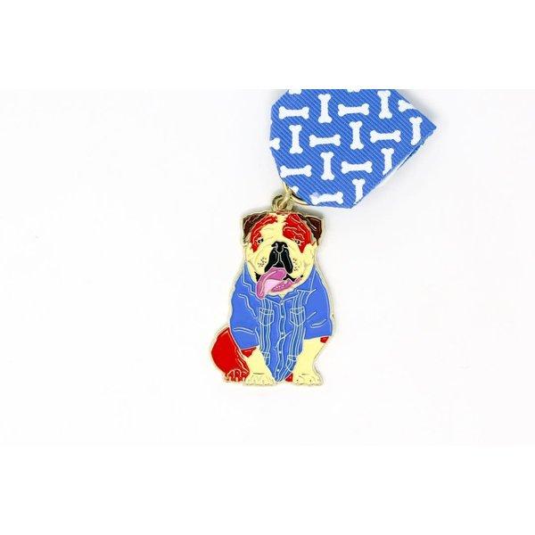 #106 SA Flavor Guayabera Tommy Dog Medal -2020