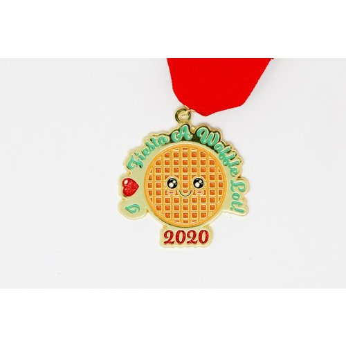 #106 S.A. Flavor I Love Fiesta a Waffle Lot! Medal by Gavin Heath