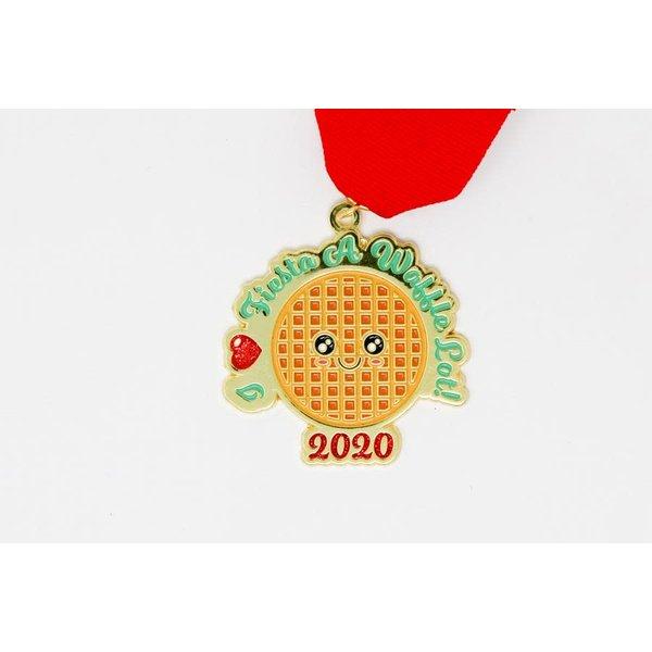 #106 S.A. Flavor I Love Fiesta a Waffle Lot! Medal by Gavin Heath
