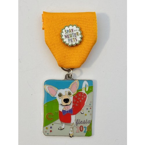The Cannoli Fund- Archie The Dog-2020 Medal