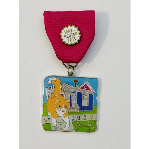 The Cannoli Fund- Foxy The Cat -2020 Medal