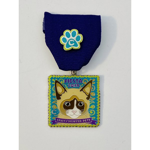 The Cannoli Fund- Bandit The Cat -2019 Medal