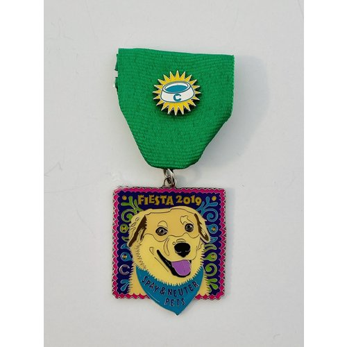 The Cannoli Fund -Sophie The Dog -2019 Medal