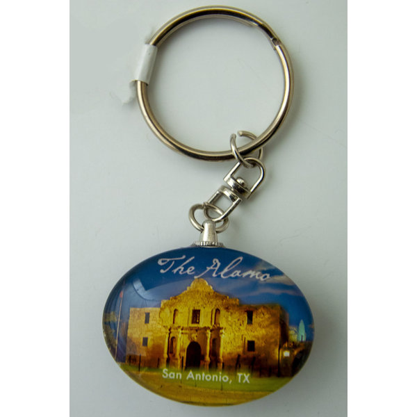 Alamo at Dusk Keychain-20