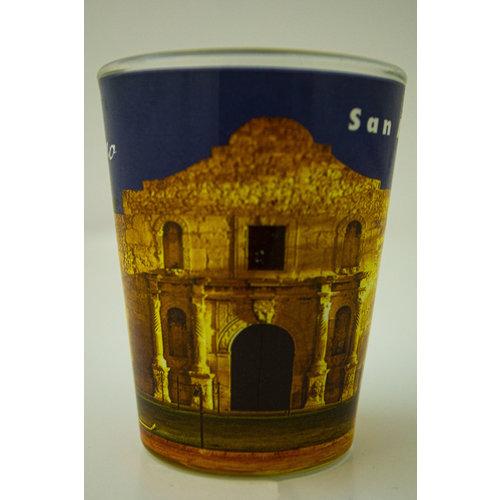 The Alamo Shot Glass 1oz -20