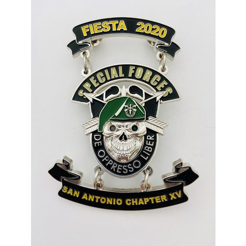 Special Forces-San Antonio Chapter XV-2020 Medal