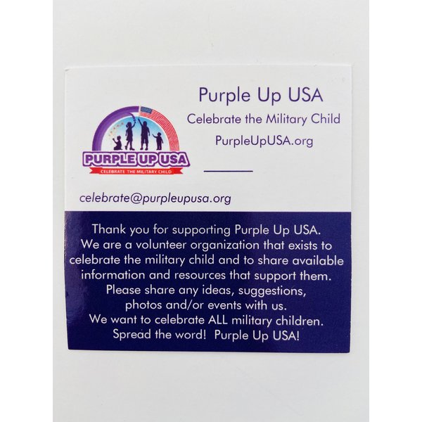 Purple Up USA 2020 Medal