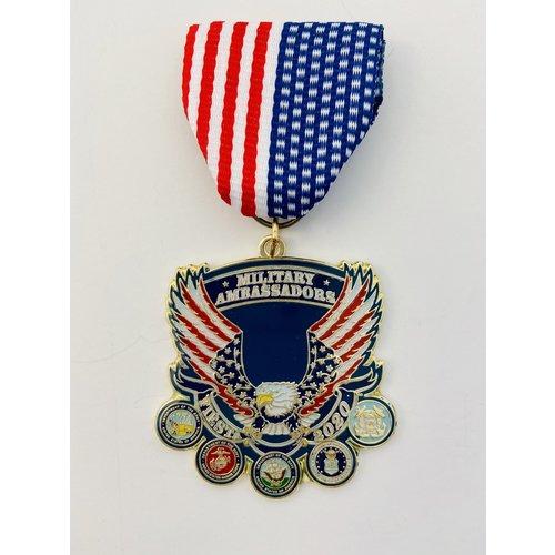 Military Civilan Club Ambassador 2020 Medal