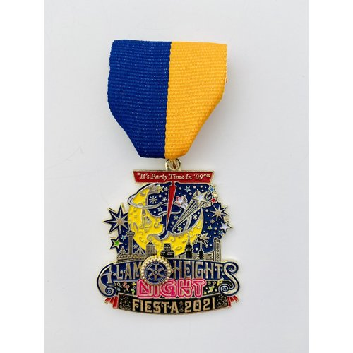 #3 Alamo Heights Rotary Club Medal- 2021