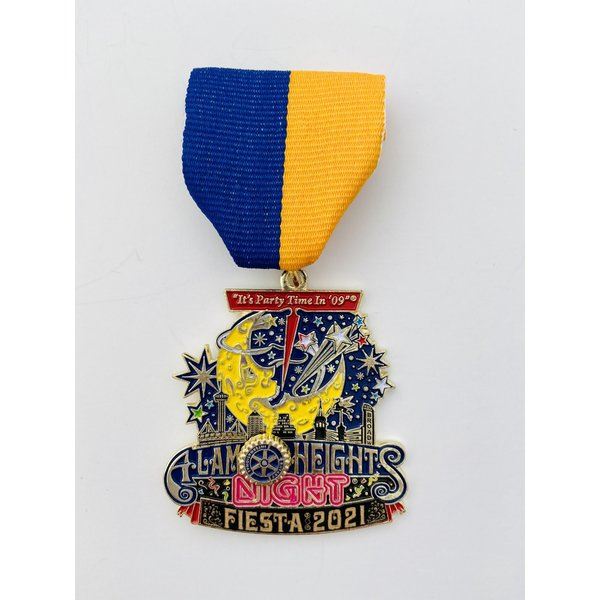 #3 Alamo Heights Rotary Club Medal- 2021