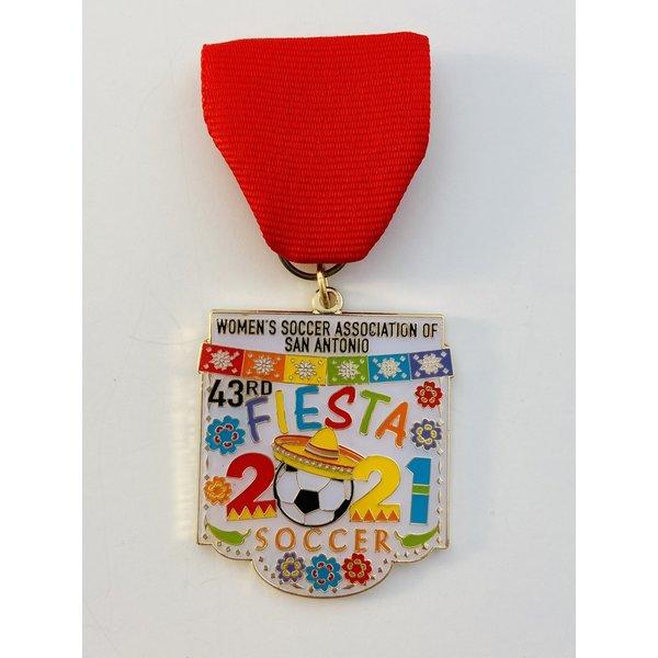 Women's Soccer Association of San Antonio 2021 Medal