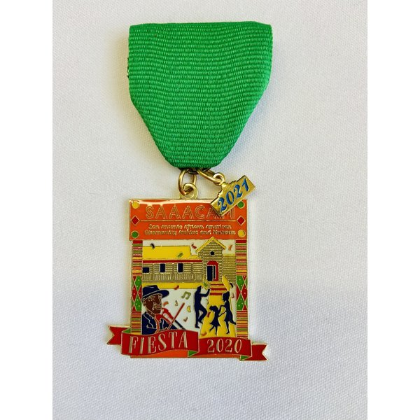 San Antonio African American Community Archive and Museum 2021 Medal