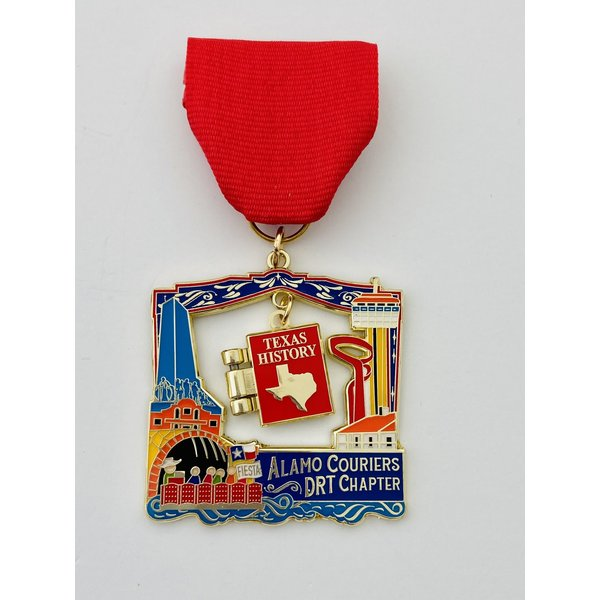 Alamo Couriers DRT Chapter 2021 Medal