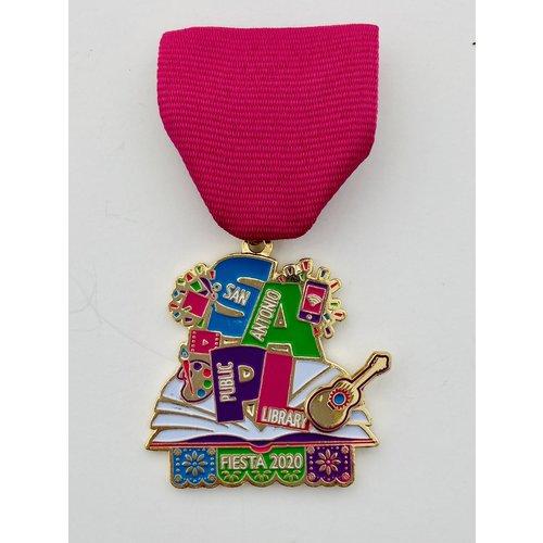 San Antonio Public Library 2020 Medal